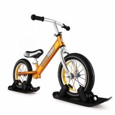 Беговел с лыжами и колесами SmallRider FootRacer AIR (бронзовый)